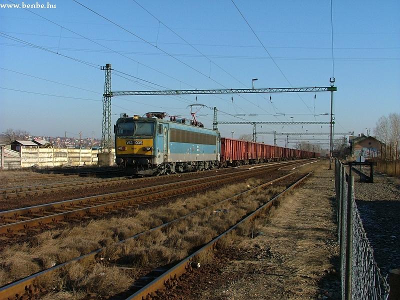 V63 035 Nagytétény-Diósd állomáson fotó