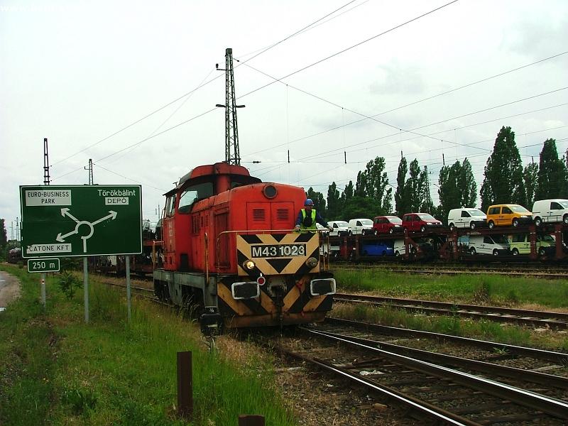 M43 1023 Budaörs állomáson fotó