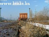 Freight cars waiting to be loaded at buda