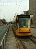 A 2008 pályaszámú Siemens Combino érkezett próbaútján a Vörösvári úthoz