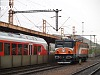 The MMV electric locomotive at Kelenf�ld