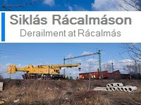 Derailment at R�calm�s