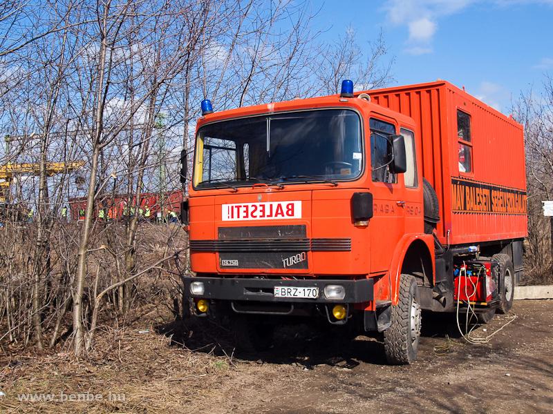 A Rába baleseti segélykocsi fotó