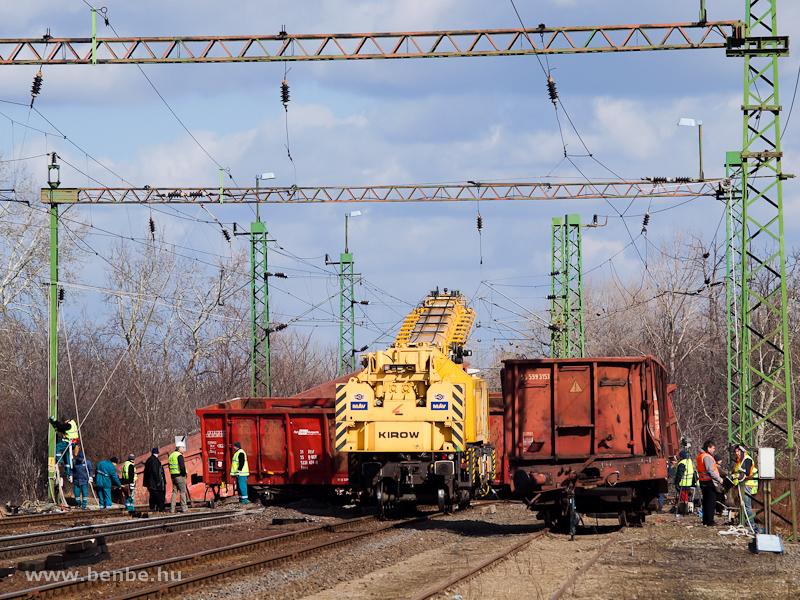 A Kirow baleseti daru Szolnokról a rácalmási siklásnál fotó