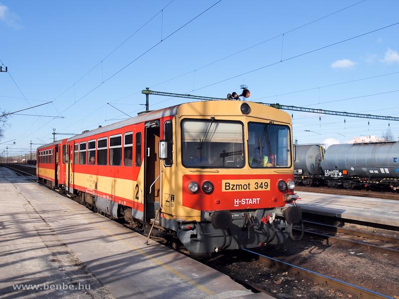 Bzmot 349 Dunaújvárosban fotó
