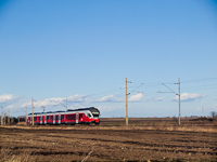 The MV-START 5341 008-0 between Ivncsa and Pusztaszabolcs 