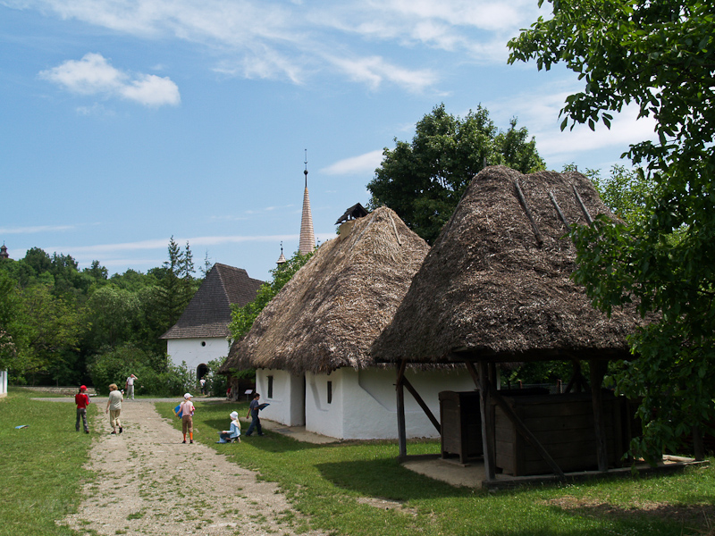 Upper Tisza valley village photo