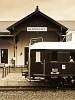 A MÁV Nosztalgia kft. - Szentendrei Szabadtéri Néprajzi Múzeum BCmot 422 Mezőhegyes (Skanzen főbejárat) állomáson