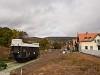 A MÁV Nosztalgia kft. - Szentendrei Szabadtéri Néprajzi Múzeum BCmot 468 Skanzen főbejárat állomáson