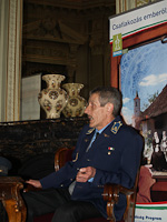 Press conference held at the royal waiting room of Budapest-Nyugati