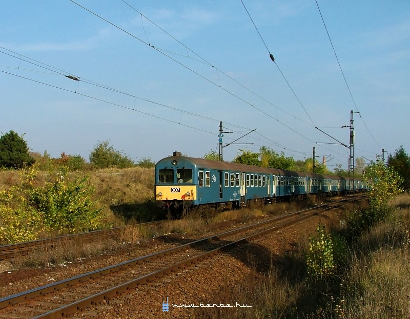 BDt 307 Kõbánya-felsõnél fotó