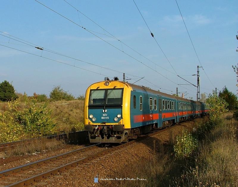 BDt 415 Kõbánya-felsõnél fotó