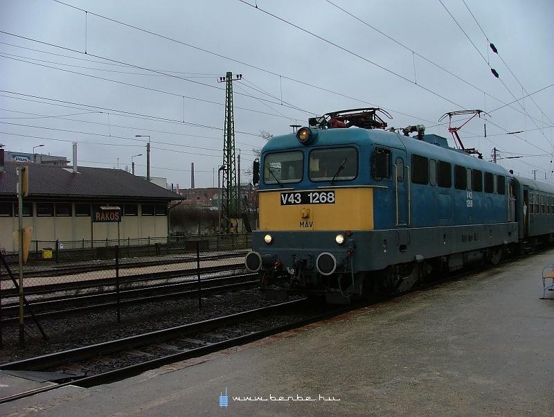 V43 1268 Rákoson fotó