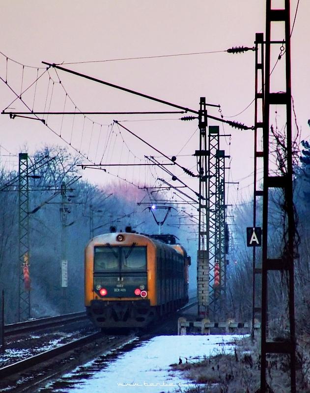 BDt 409 Gödöllõ-Állami telepek megállóhelynél fotó