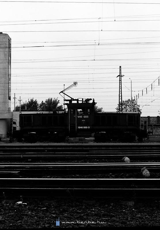 V46 005 a Keleti pályaudvaron fotó