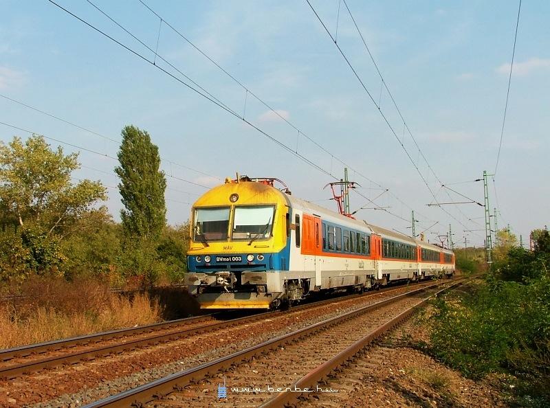 BVmot 003 Kõbánya-Felsõnél fotó