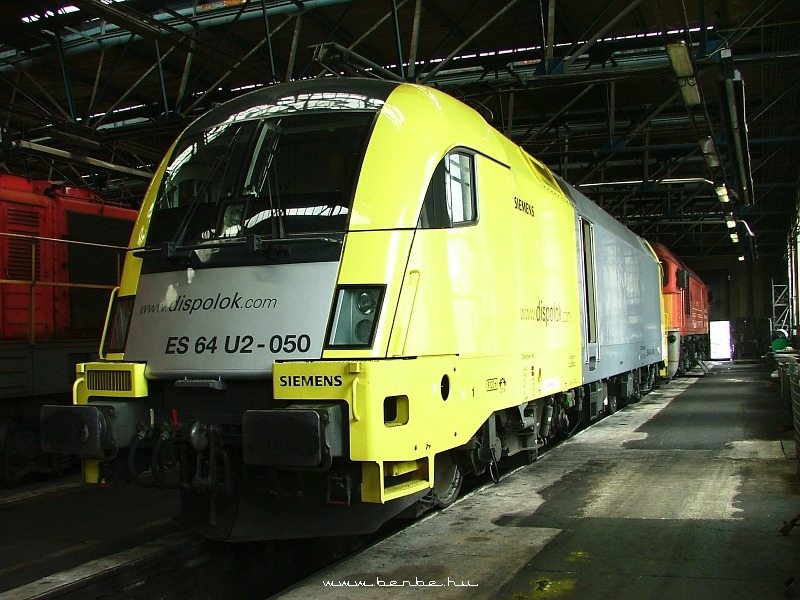 ES64 U2-050 Ferencvárosban fotó