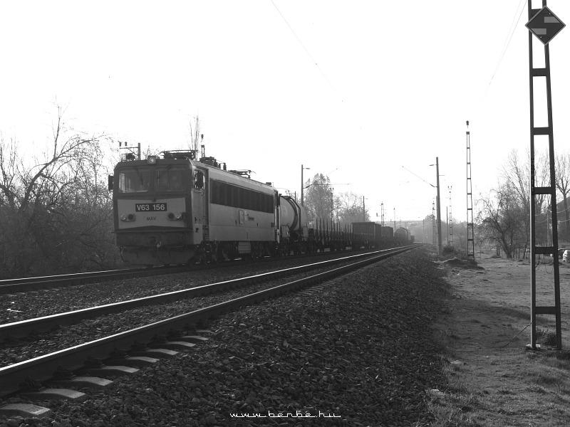 V63 156 a Körvasúton fotó