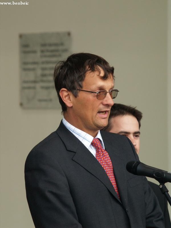 Dunai Zoltán, a Stadler Trains Magyarország kft. ügyvezetõ igazgatója fotó