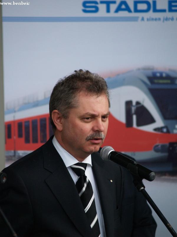 Heinczinger István, a MÁV Zrt. vezérigazgatója fotó
