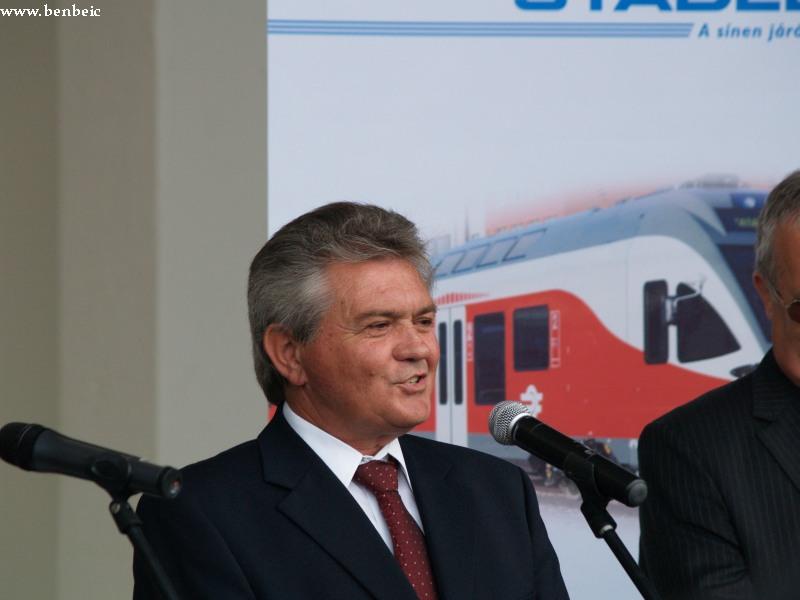 Czompó István, Pusztaszabolcs polgármestere fotó
