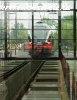 The FLIRT 5341 001-3 at Pusztaszabolcs Stadler shed