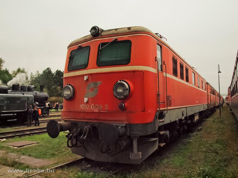 Az ÖBB 1010 002-2 Strasshofban fotó