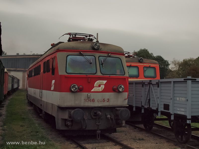 Az ÖBB 1046 005-3 Strasshofban fotó