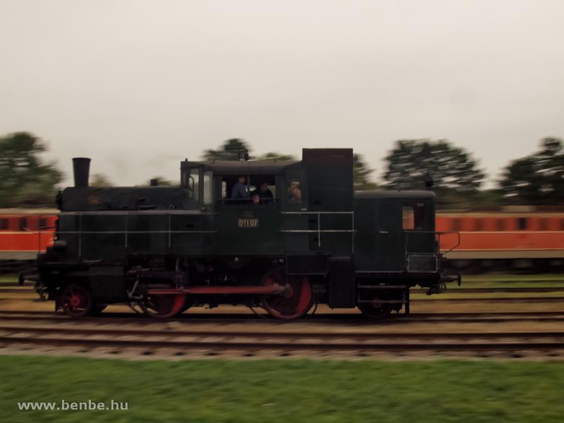 A DTI 07 gőzmotorkocsi Strasshofban fotó