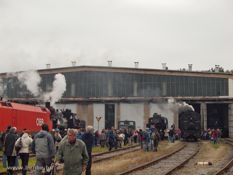 Érkezés a strasshofi fűtőházmúzeumba fotó