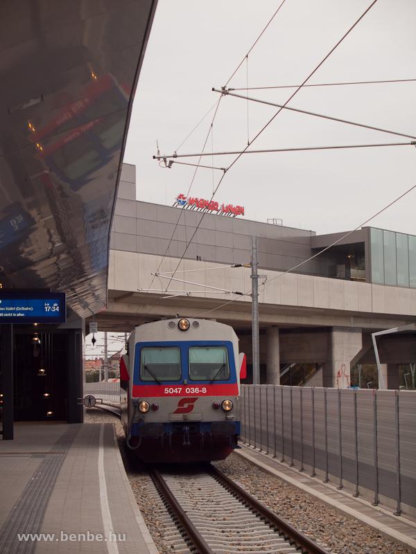 Az ÖBB 5047 036-8 érkezik Marcheggből Stadlauba fotó