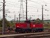 Az �BB 1063 031-7 tolat�mozdonya Wien Zentralverschiebebahnhof Kledering rendezőp�lyaudvaron