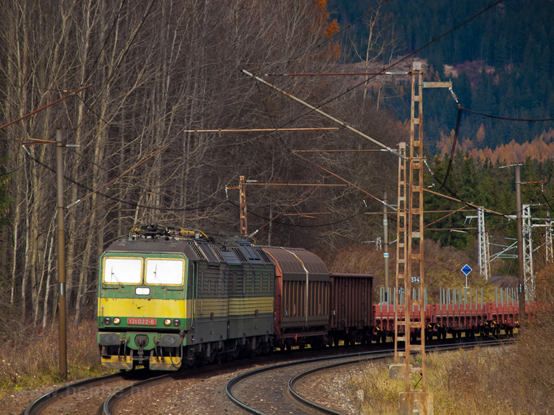 A ŽSCS 131 022-6 pálya fotó