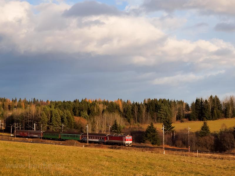 A ŽSSK 163 054-0 szemé fotó