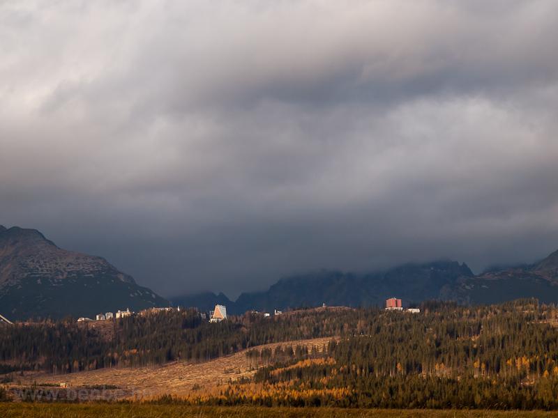 Csorbató település látképe fotó