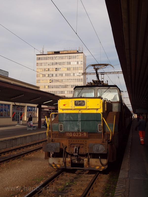 A ŽSCS 110 023-9 pálya fotó