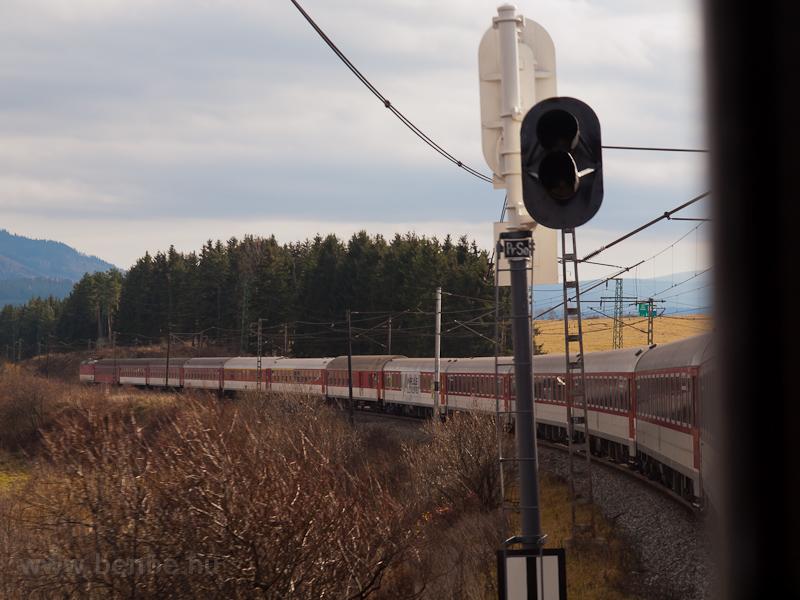 A Liptov gyorsvonat kanyaro fotó