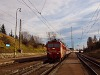 The Coca-Cola 362 015-0 with fast train Liptov at Csorba station (trba, Slovakia)