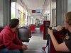 Inside a Bombardier Flexity Outlook of the Stubaitalbahn