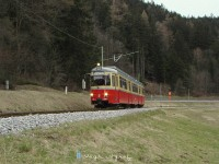 Despite the heavy grade the tram is swift even during autumn, when the rails are slippery
