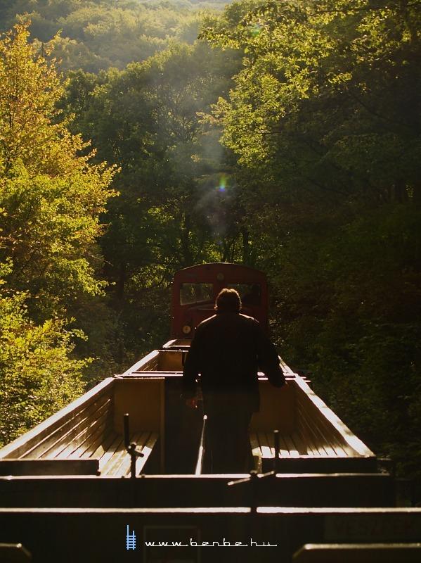 Kézifékes vonat - Szilvásvárad fotó