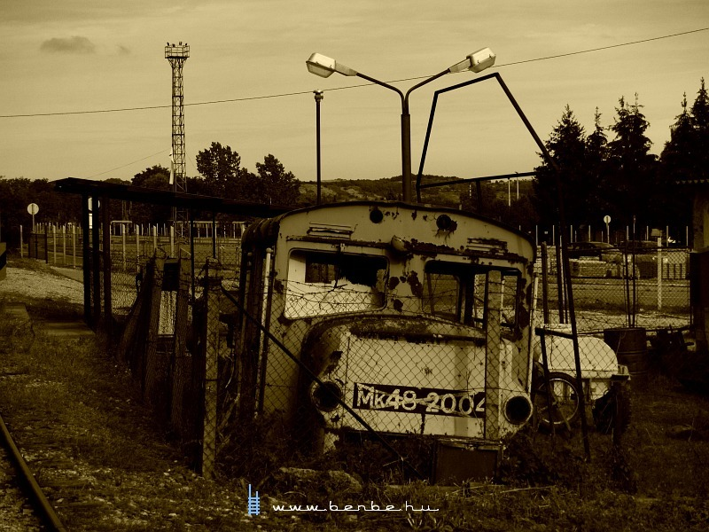 Mk48 2004 romjai a szilvásváradi fûtõháznál fotó