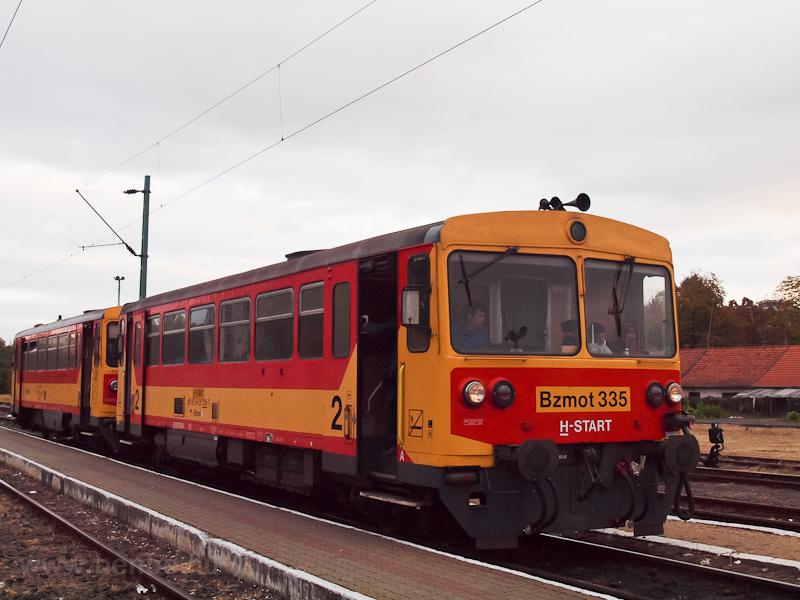 A MÁV-START Bzmot 335 Eger  fotó