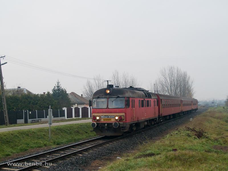 MDmot 3025 Kisvarsány és Vásárosnamény között fotó