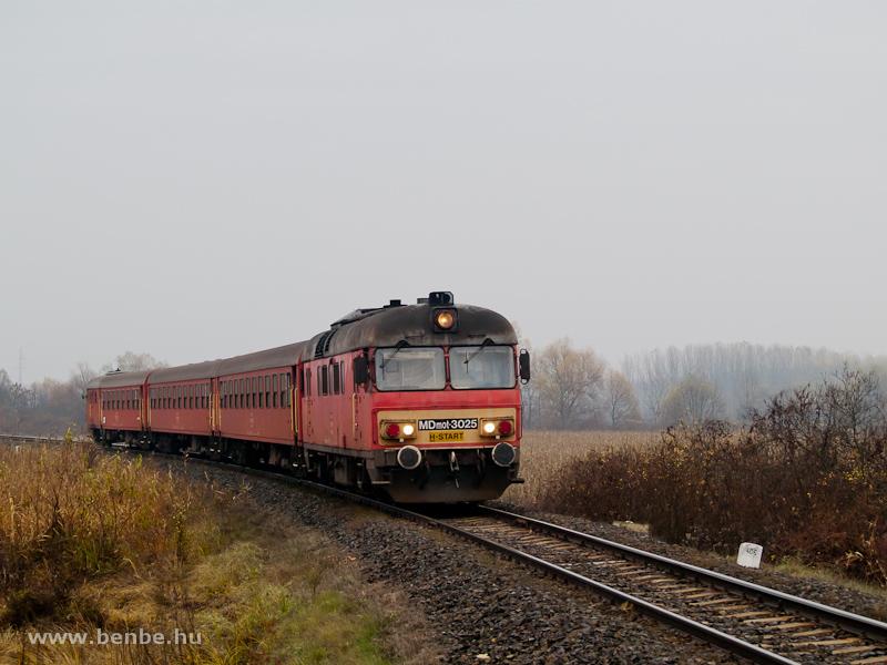 MDmot 3025 Nagydobos és Ópályi között fotó
