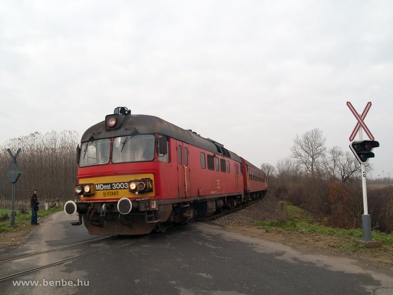 MDmot 3003 Újkenéz és Aranyosapáti között fotó