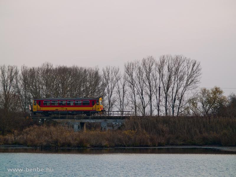 The Bzmot 219 at Penyige over the Szenke lake photo