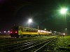 Trains passing by: Bzmot 363 at Nagyk�ll� at night
