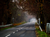 An awesome-looking road between Nagydobos and �p�lyi