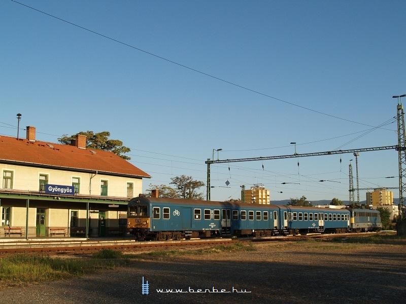 Gyöngyös állomás fotó